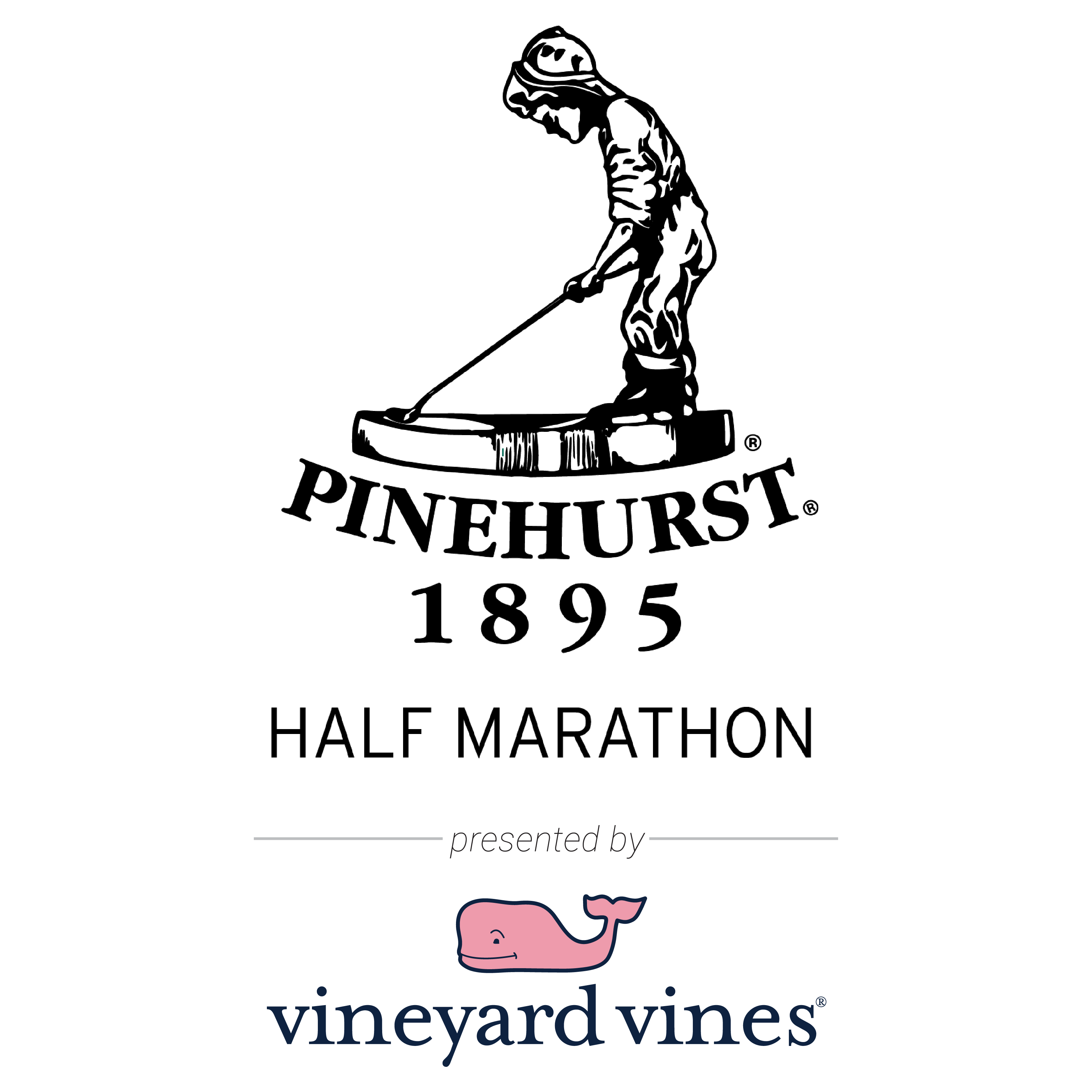 The Pinehurst Half Marathon, Presented by vineyard vineslogo