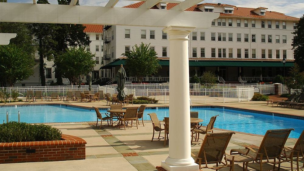 The Carolina Hotel pool.