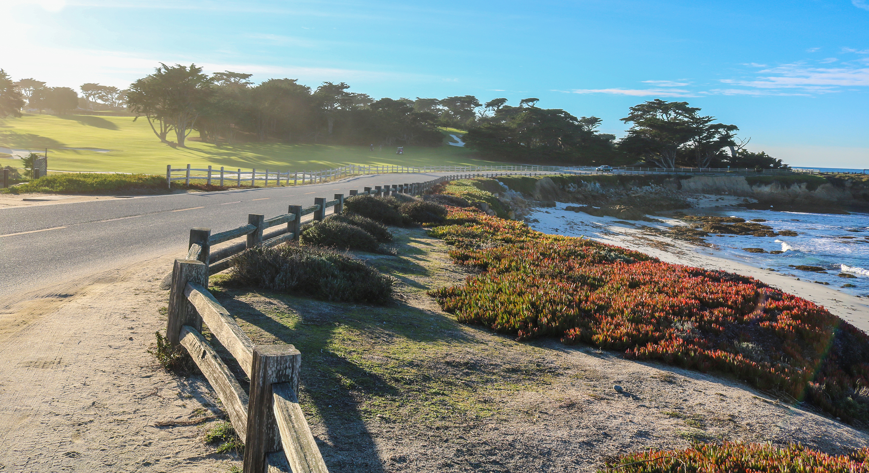 The Vineyard Vines Half Marathon At Pebble Beach