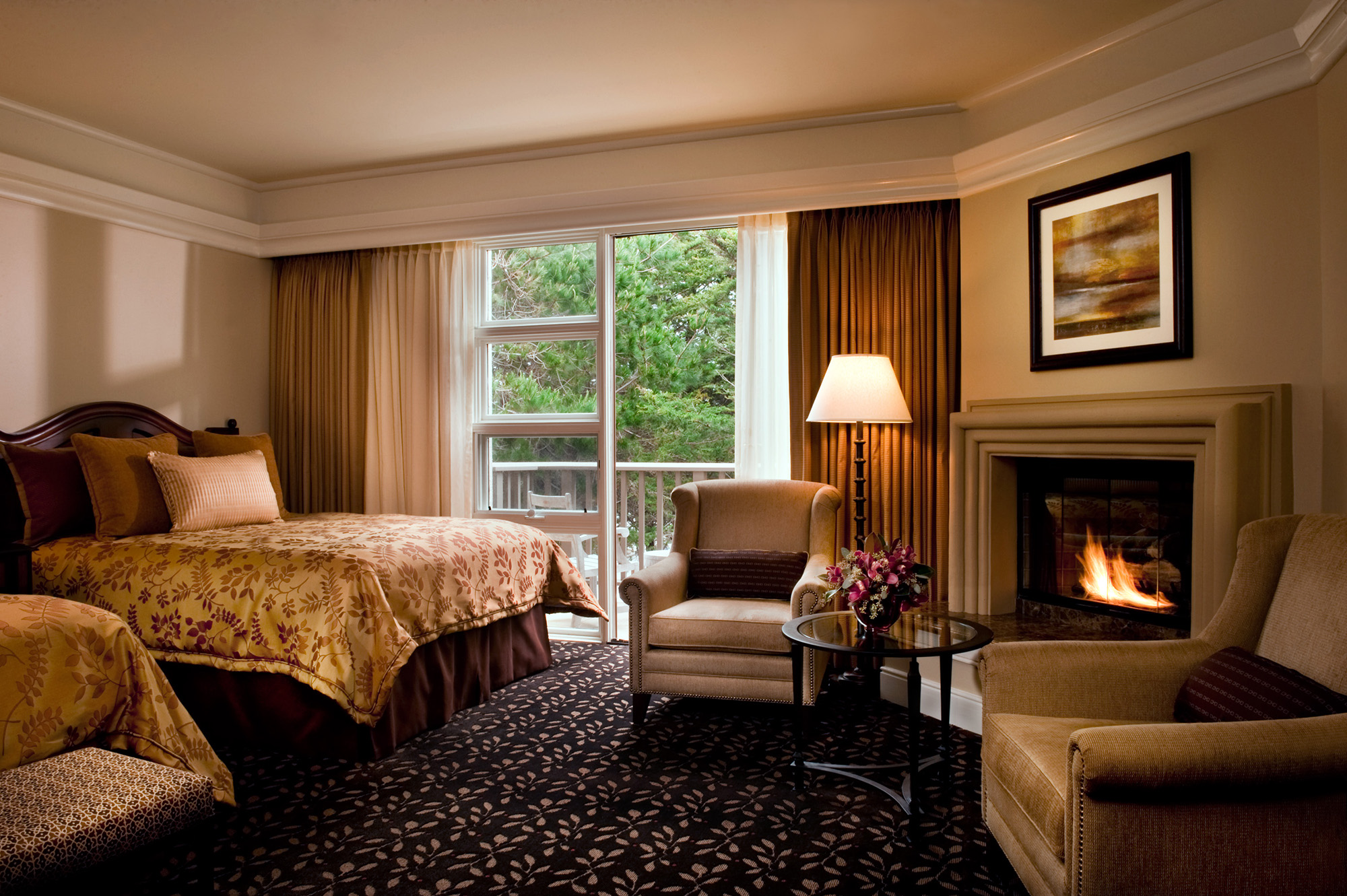The Inn at Spanish Bay® Forest View Room | Photo by Scott Campbell