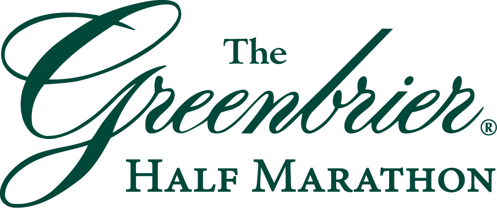The vineyard vines Greenbrier Half Marathonlogo